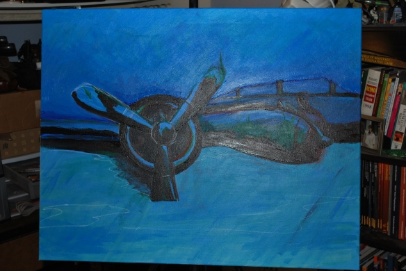 Scuba Painting, Ryan Berry